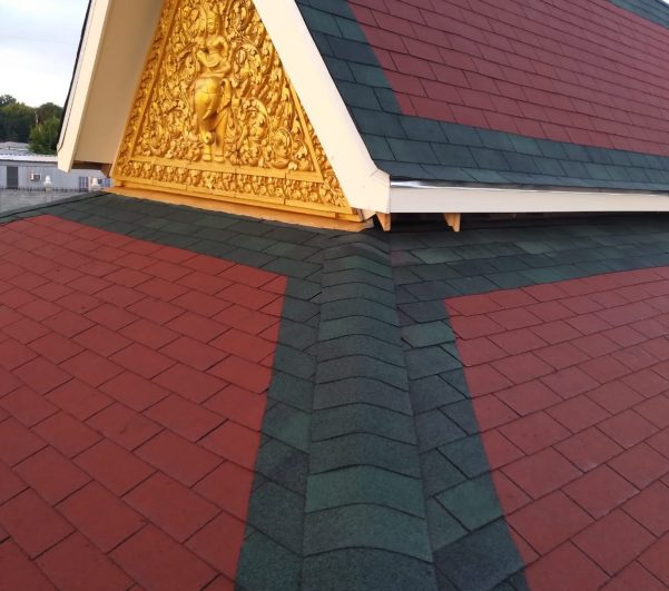 Roof Repairing for a Buddhist Temple in Houston, Texas